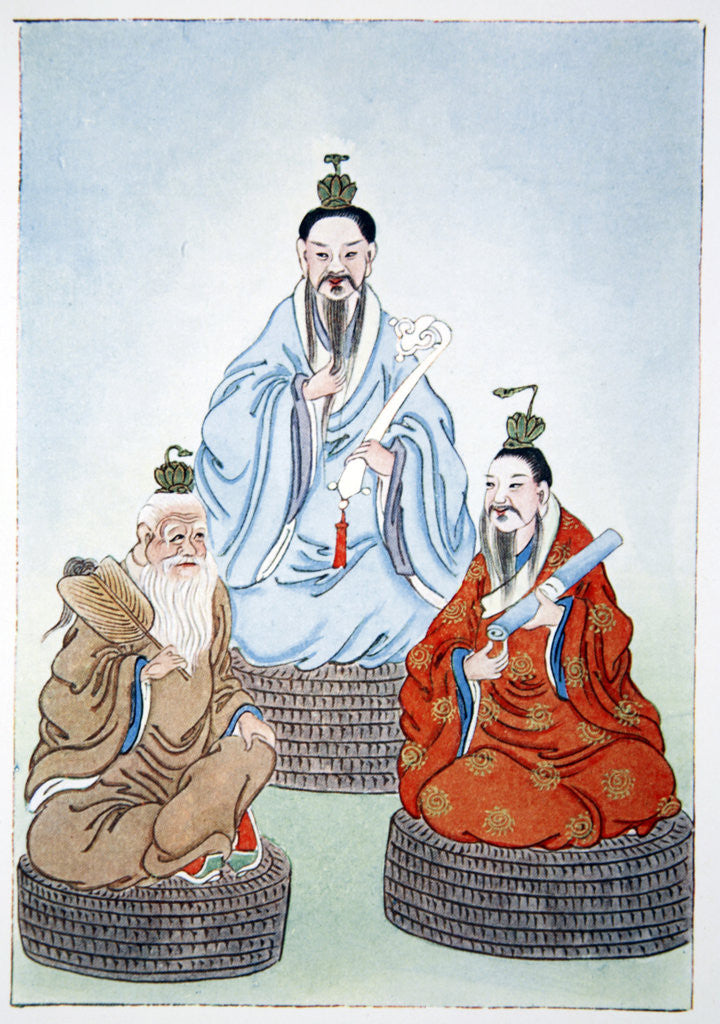 Detail of The Taoist Triad by Anonymous