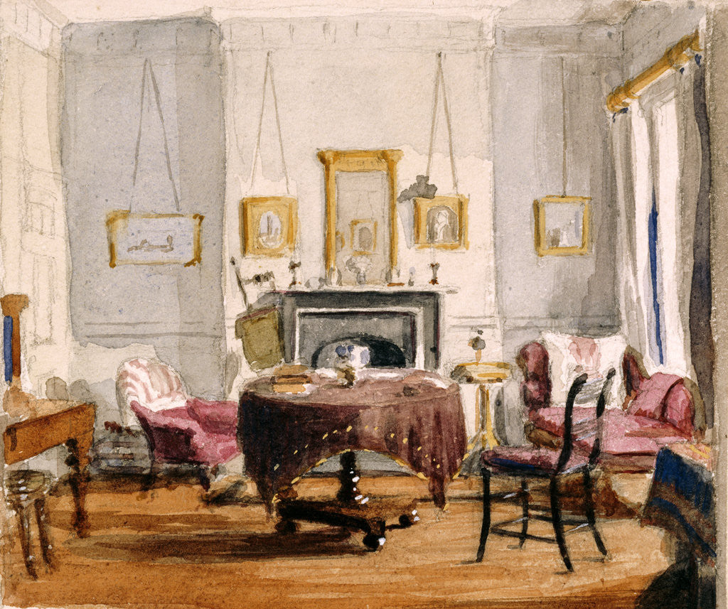 Detail of The Drawing Room at 59 Seymour Street by Matilda Sharpe