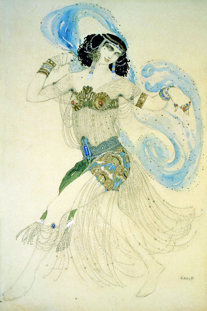 Detail of Dance of the Seven Veils by Leon Bakst