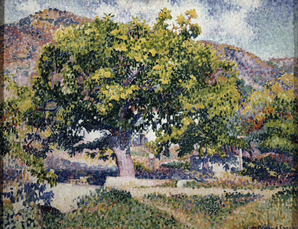Detail of Near my House by Henri Edmond Cross