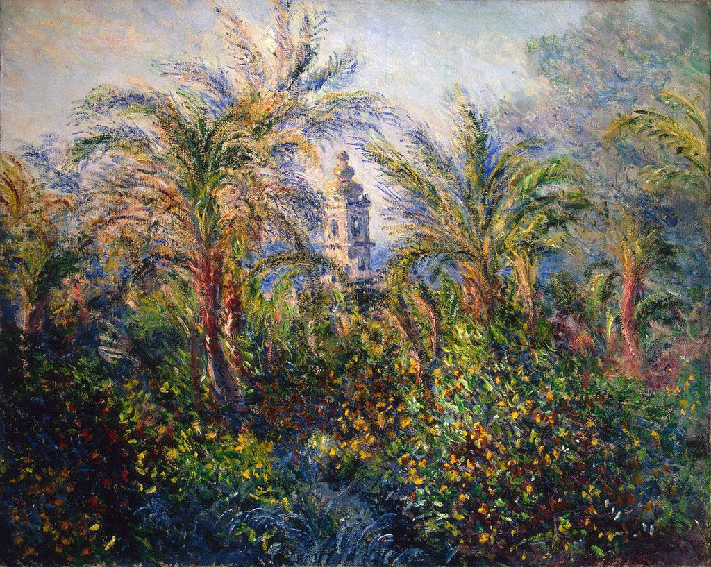 Detail of Garden in Bordighera, Impression of Morning, 1884. by Claude Monet