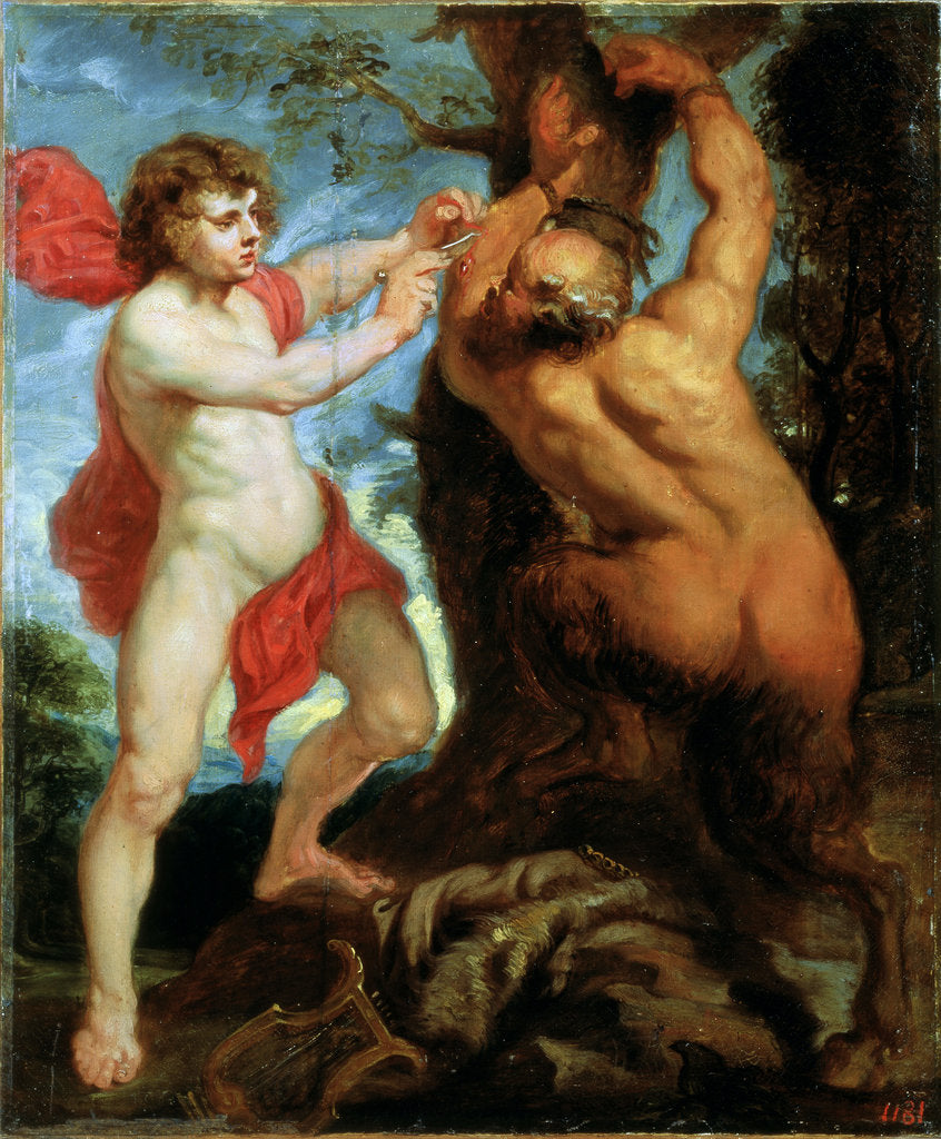 Detail of Apollo and Marsyas, 17th century by Peter Paul Rubens