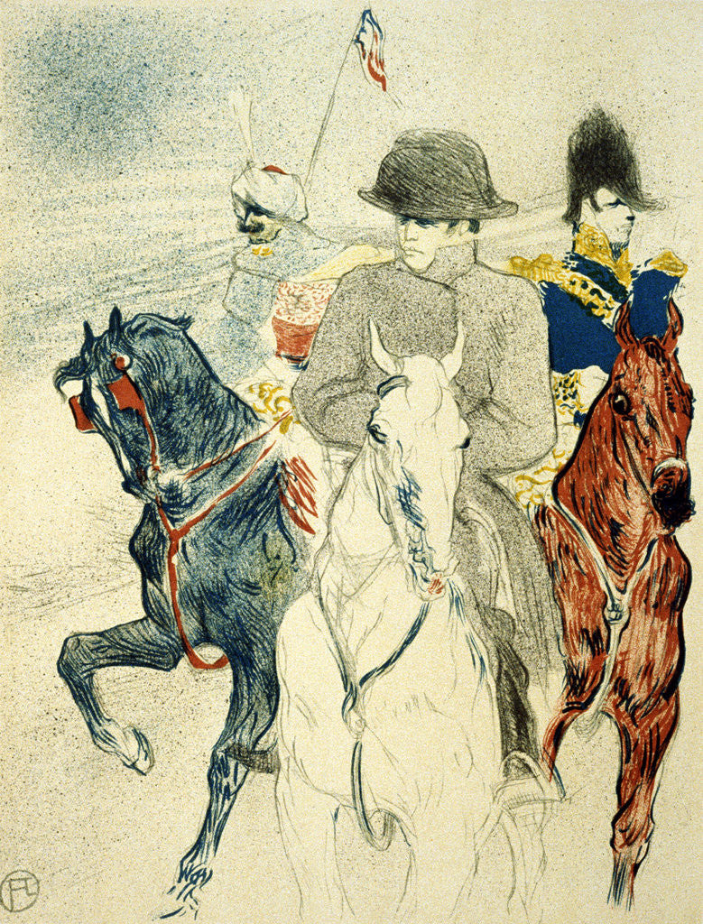 Detail of The History of Napoleon I by Henri de Toulouse-Lautrec