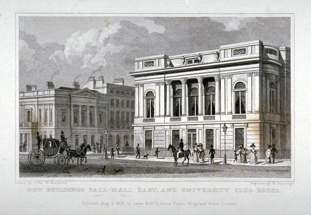 Pall Mall East, Westminster, London by M Barrenger