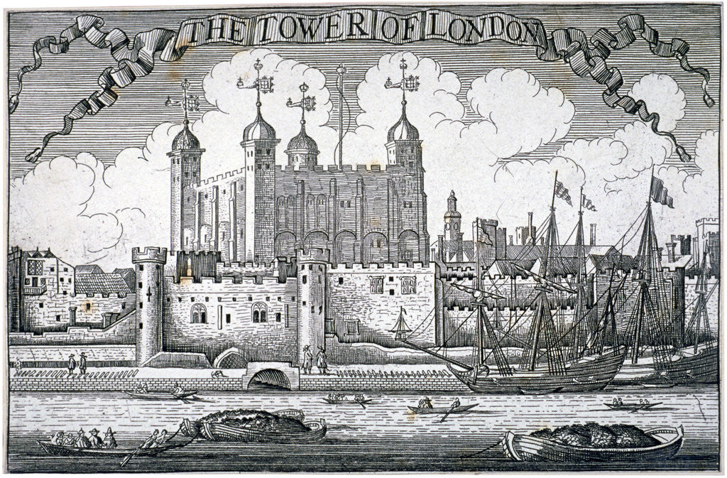Detail of Tower of London, c1800(?) by Anonymous