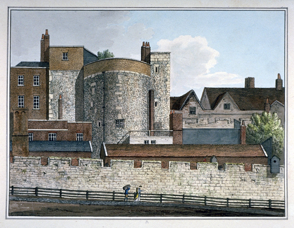 Detail of Beauchamp Tower, Tower of London by Charles Tomkins