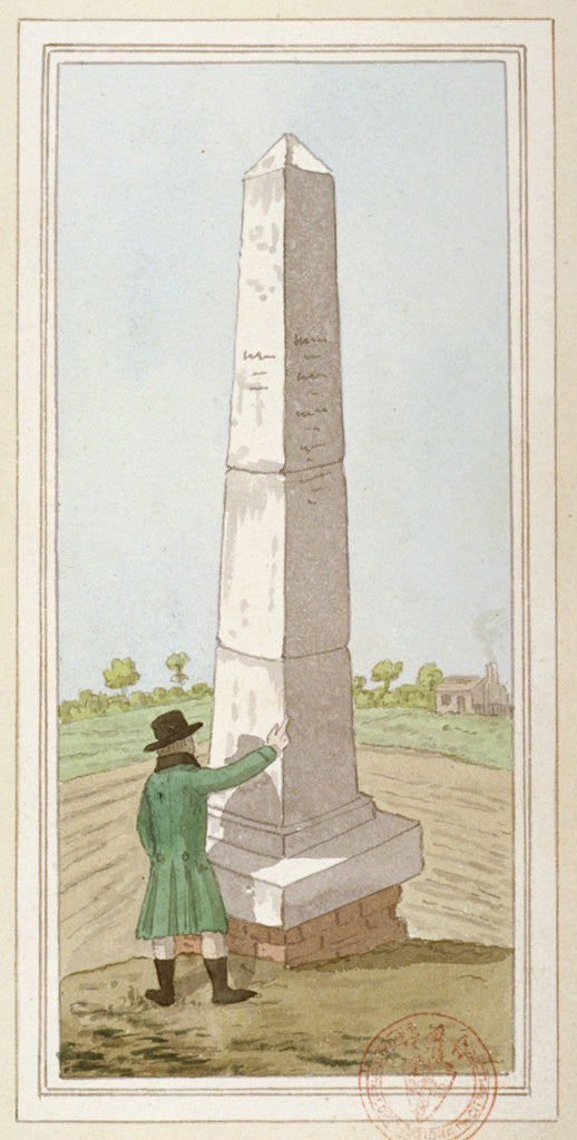 Detail of Obelisk at Monken Hadley, Hertfordshire by Anonymous