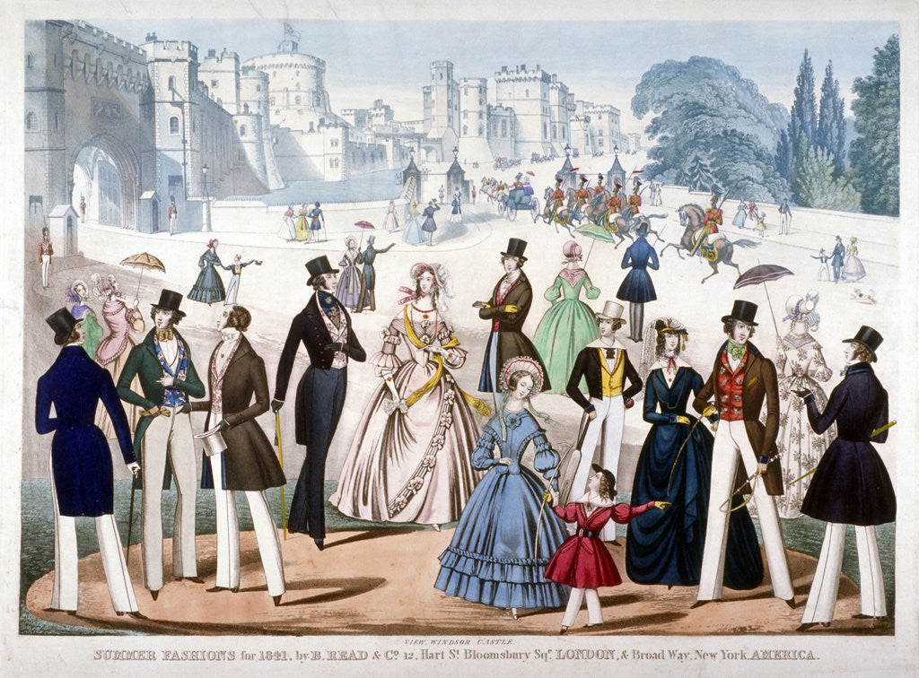 Detail of Summer Fashions for 1841 by Anonymous