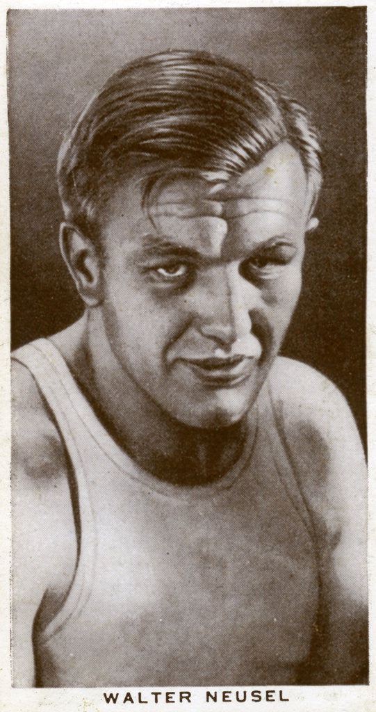Walter Neusel, German boxer by Anonymous
