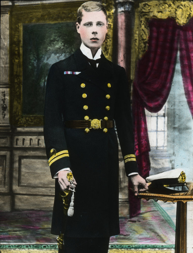 Detail of The Prince of Wales, future King Edward VIII by Anonymous