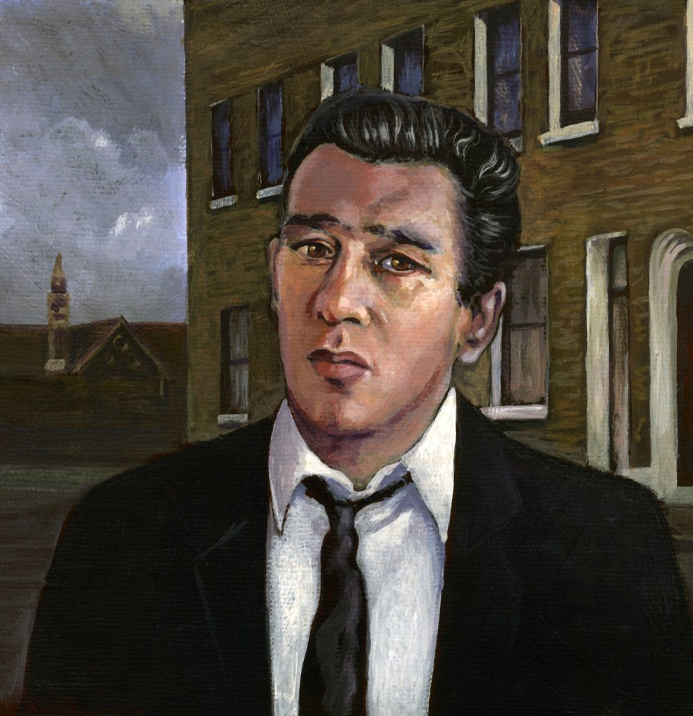 Detail of Reggie Kray by Karen Humpage