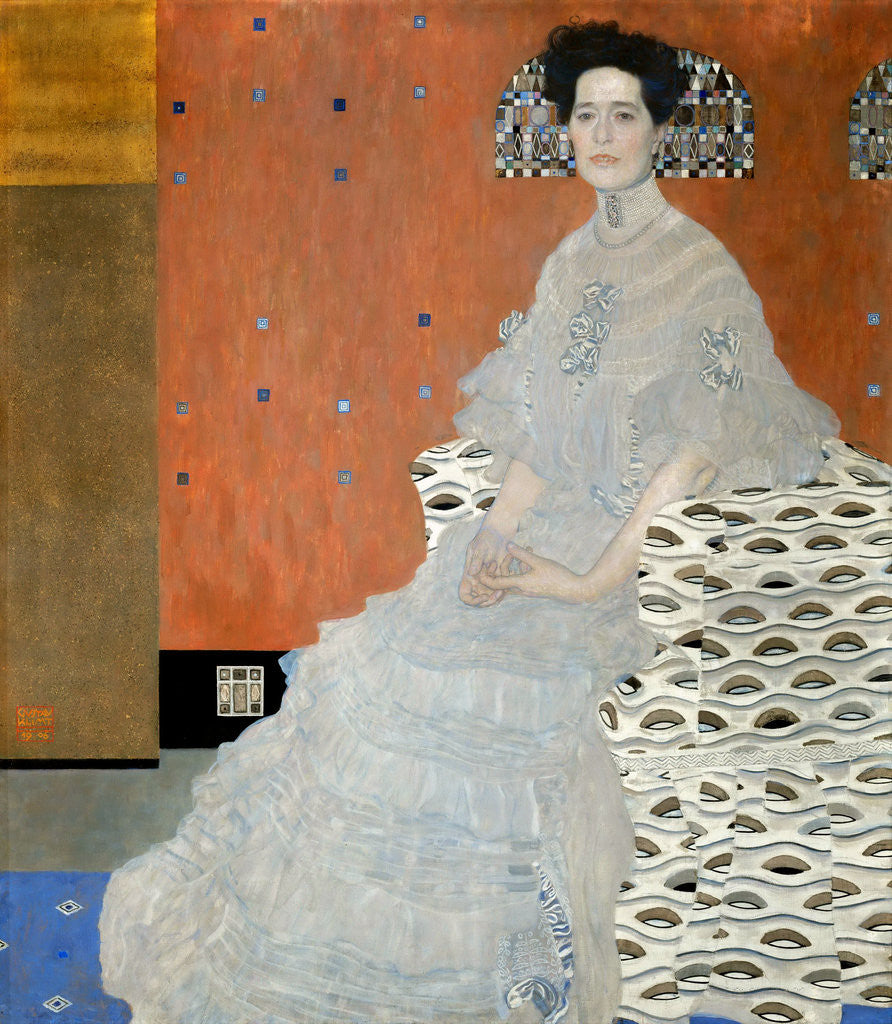 Portrait of Fritza Riedler by Gustav Klimt