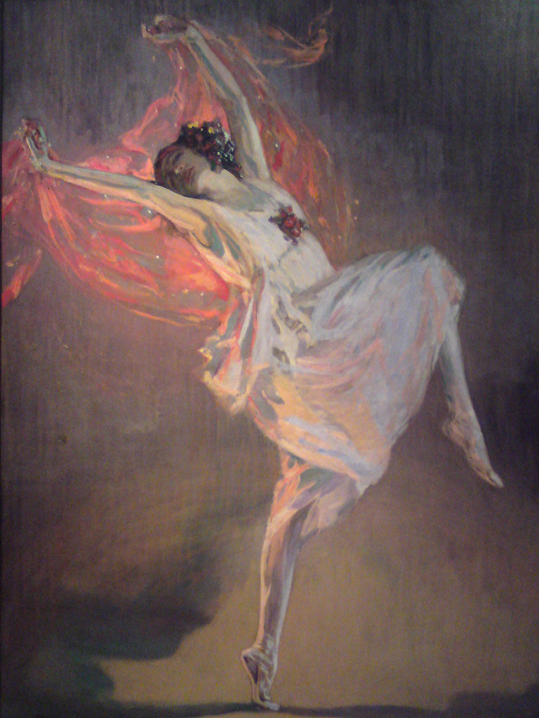 Detail of Ballerina Anna Pavlova by Sir John Lavery
