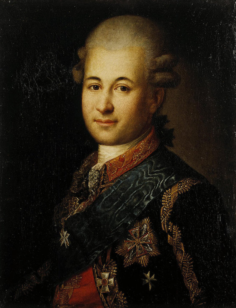 Portrait of Semyon Zorich, the Catherine the Greats Favourite, Late 18th cent
