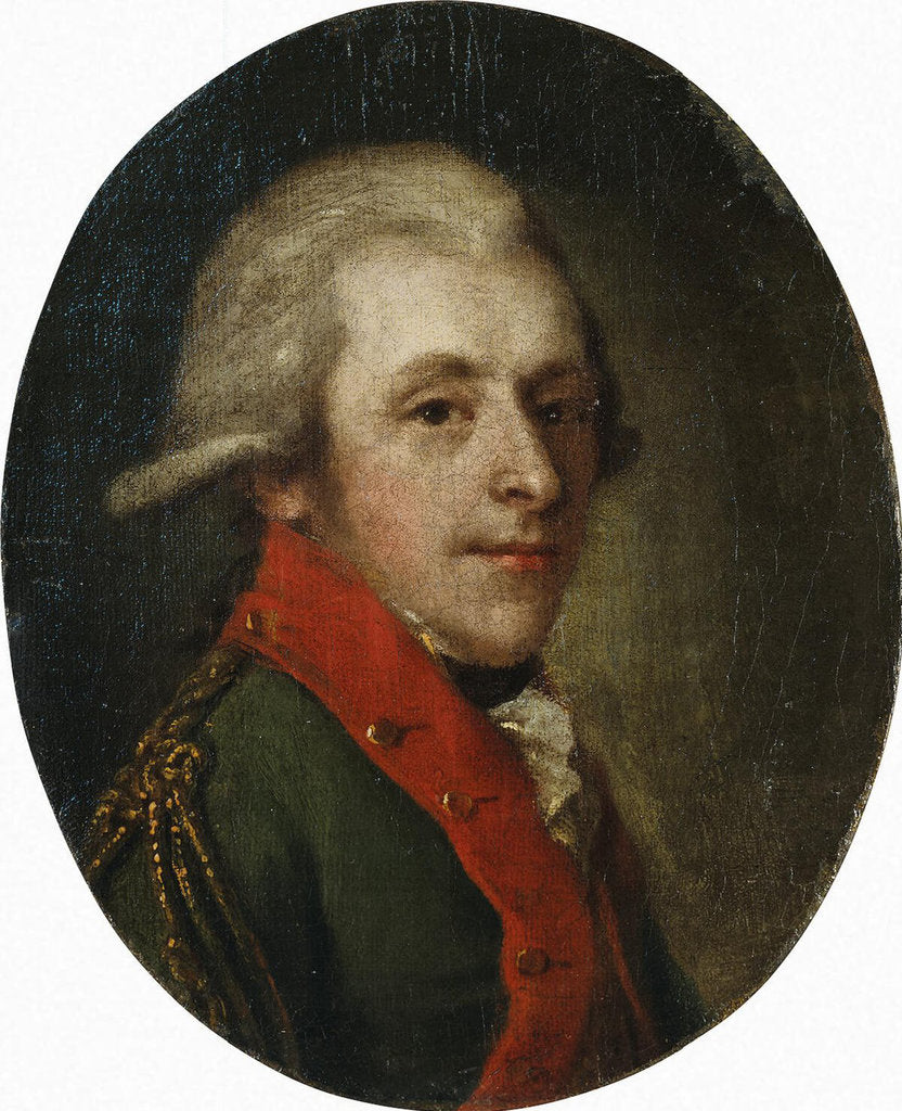 Portrait of Count Nikolay Alexandrovich Zubov, Late 18th cent