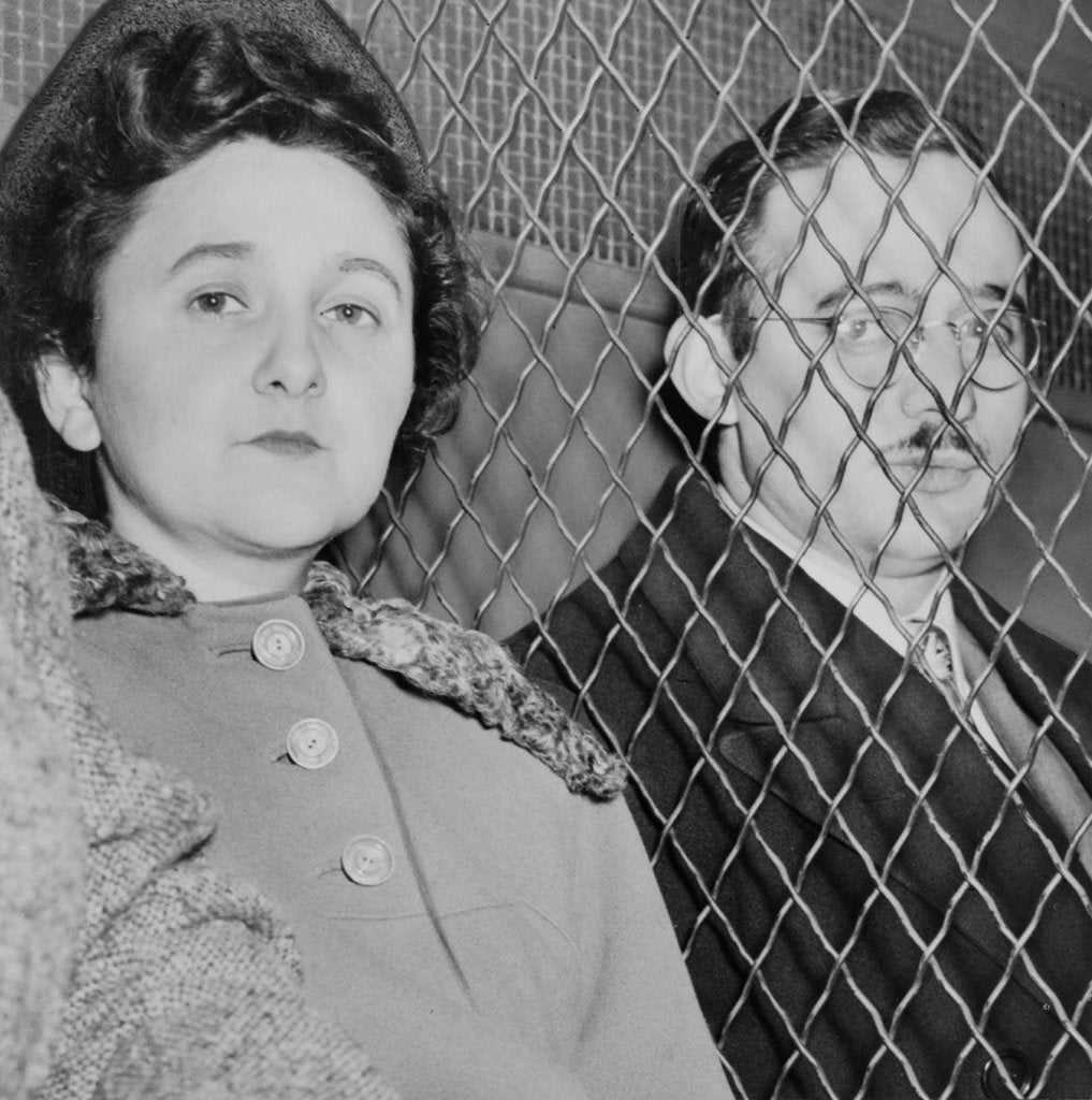 Detail of Ethel and Julius Rosenberg by Anonymous