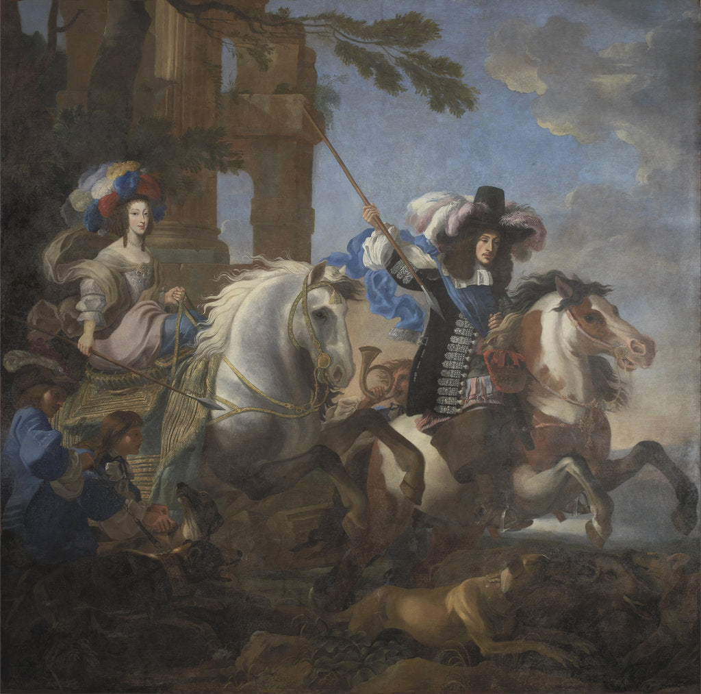 Ferdinand Maria, Elector of Bavaria and Henriette Adelaide of Savoy by Jan Miel