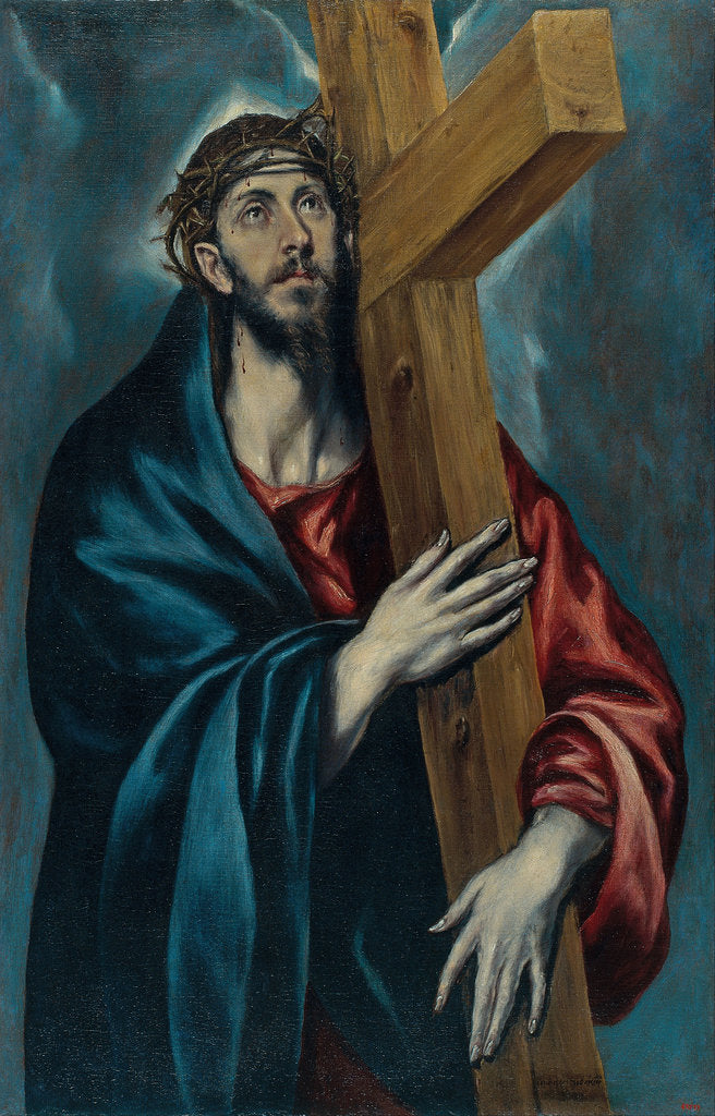 Detail of Christ Carrying the Cross by Dominico El Greco