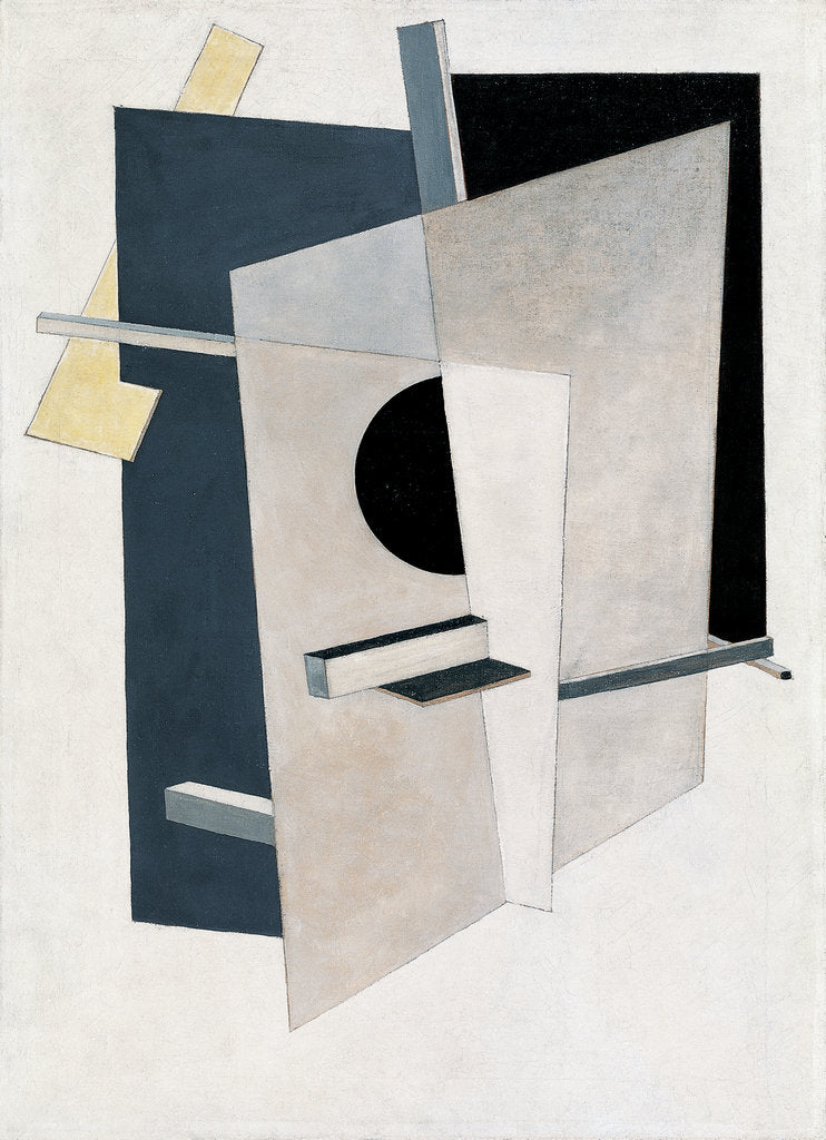 Detail of Proun 6 by El Lissitzky