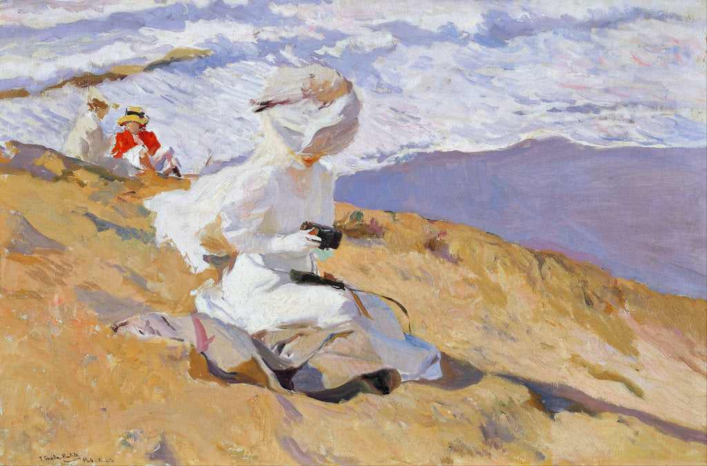 Detail of Capture The Moment by Joaquín Sorolla y Bastida