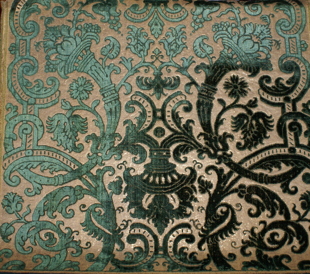 Detail of Textile, 16th century by West European Applied Art