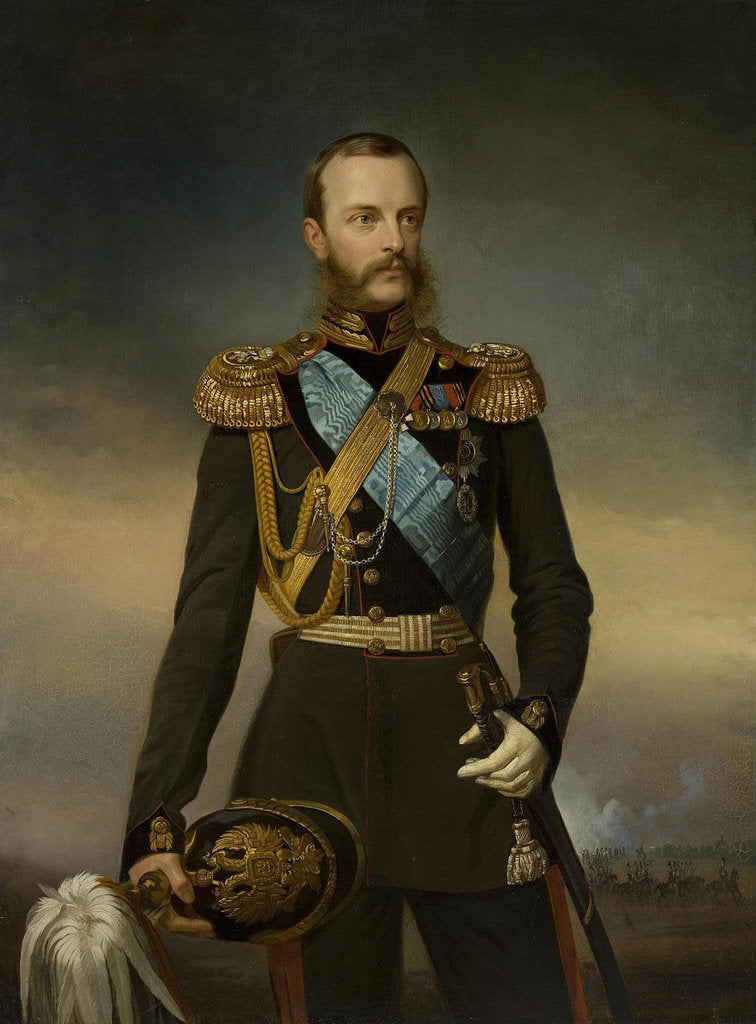 Detail of Portrait of Grand Duke Michael Nikolaevich of Russia, Early 1860s by Anonymous