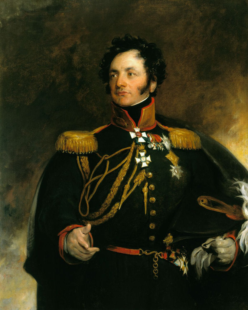 Detail of Portrait of General Fyodor Petrovich Uvarov, 1818 by Sir Thomas Lawrence