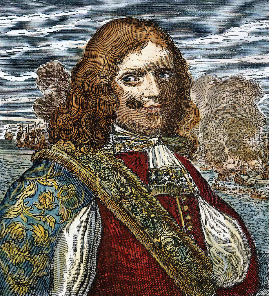 Detail of Sir Henry Morgan, 18th century by Anonymous