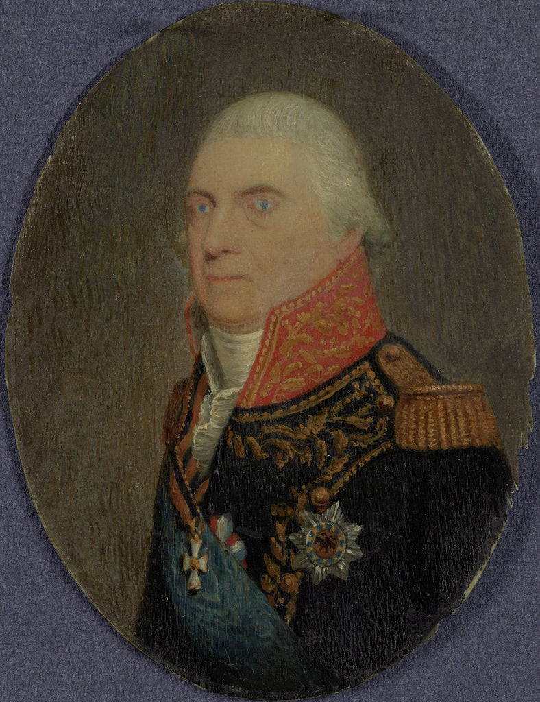 Detail of Admiral Jan Hendrik van Kinsbergen, Count of Doggersbank, c. 1810 by Anonymous