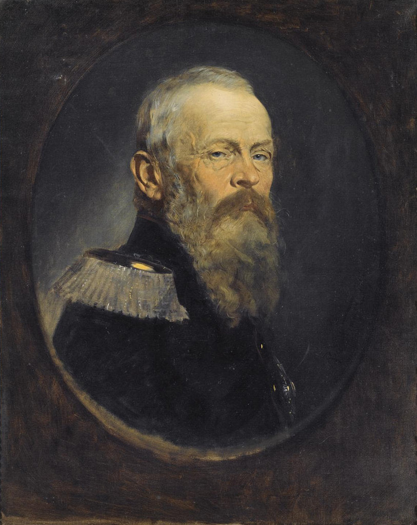 Detail of Portrait of Luitpold, Prince Regent of Bavaria, 1893 by Rudolph Wimmer