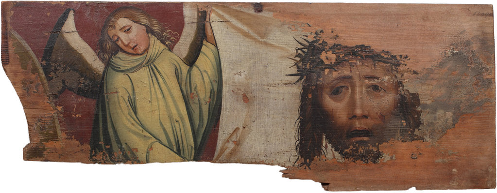 Detail of The veil of Saint Veronica, Early16th century by Anonymous