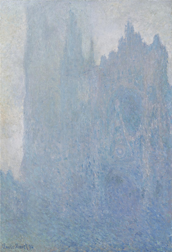 Detail of The Rouen Cathedral in fog, 1893 by Claude Monet