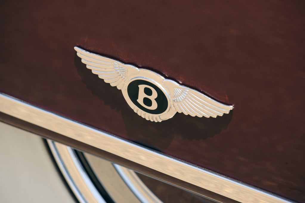 Detail of Bentley R type Continental 1954 by Simon Clay