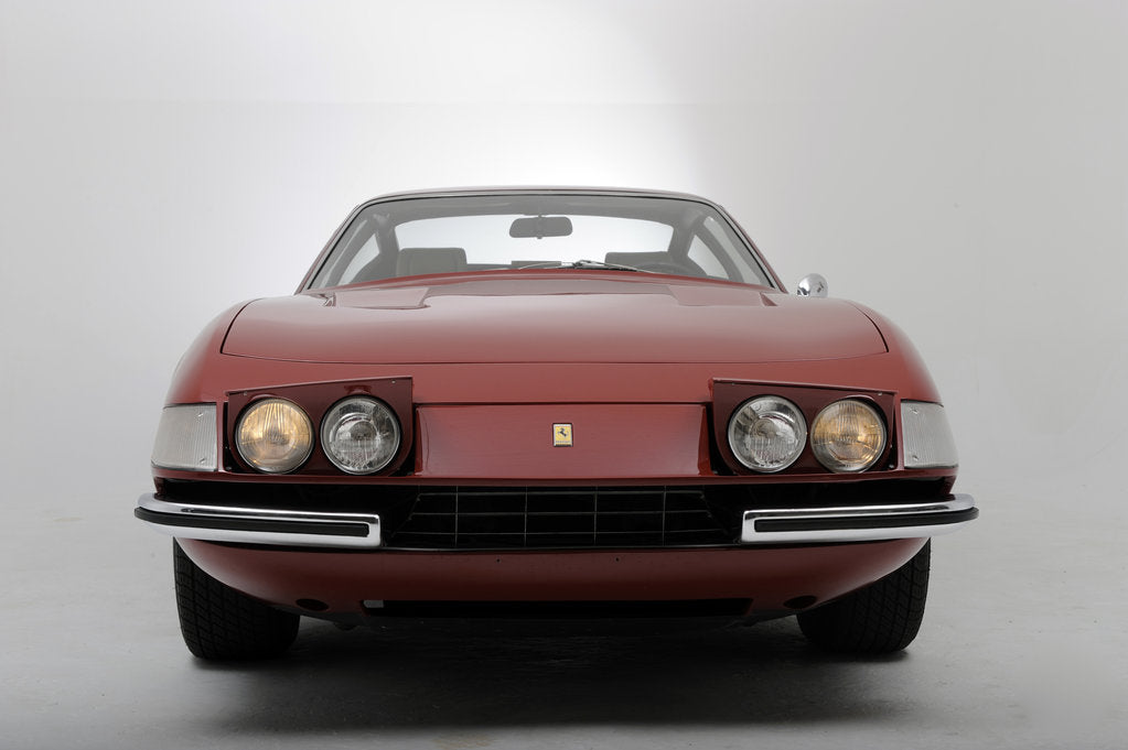 Detail of Ferrari 365 GTB 1972 by Simon Clay