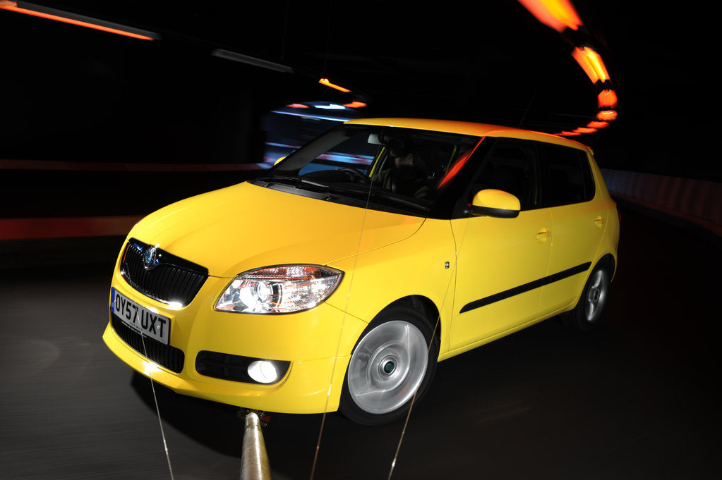 SKODA Fabia 2007 by Simon Clay