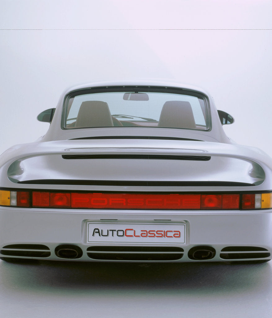Detail of 1988 Porsche 959 by Unknown