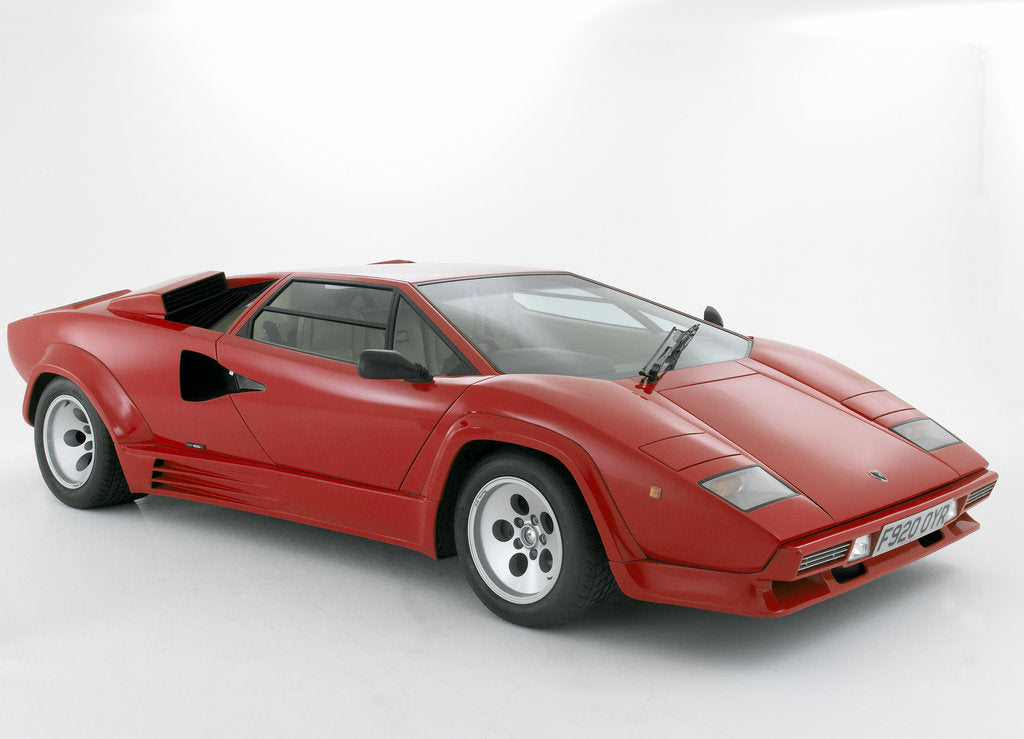Detail of 1988 Lamborghini Countach by Unknown