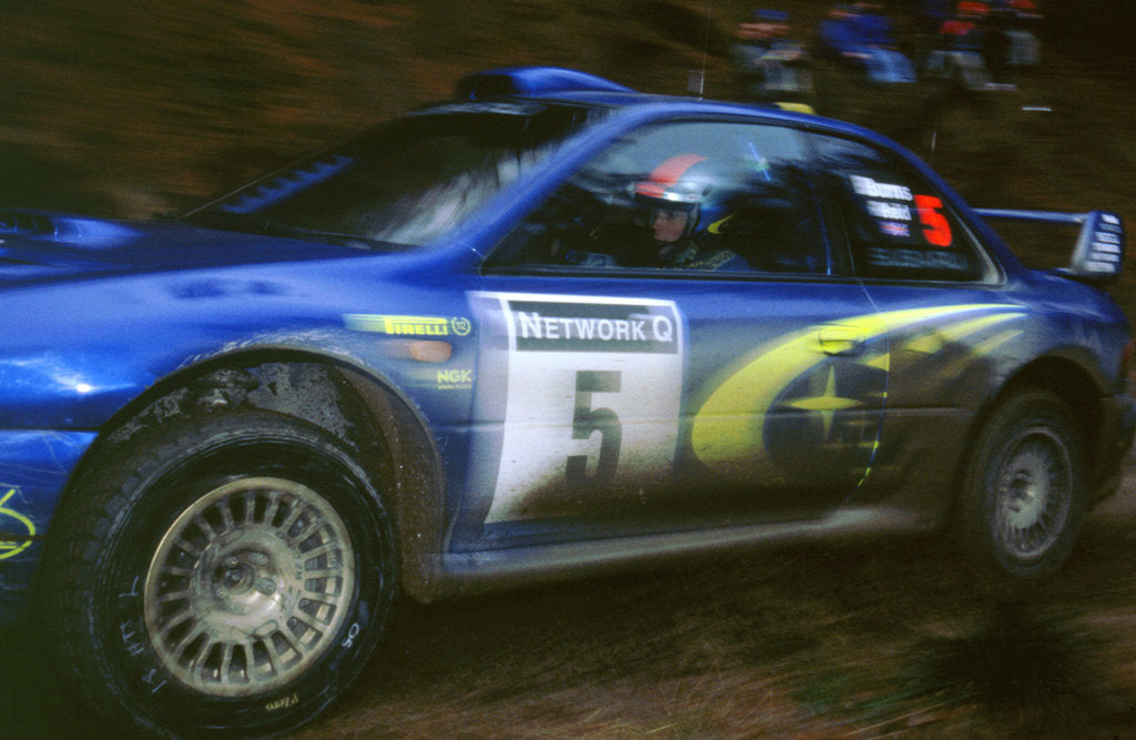 Detail of 1999 Subaru Impreza WRC Network Q Burns by Unknown
