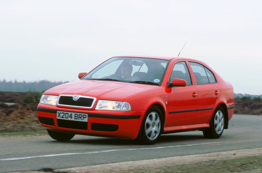 Detail of 2001 Skoda Octavia 1.6i by Unknown