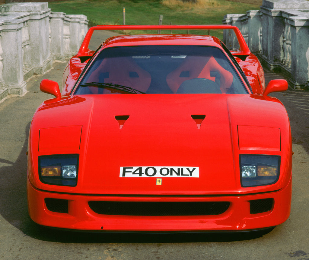 Detail of 1988 Ferrari F40 by Unknown