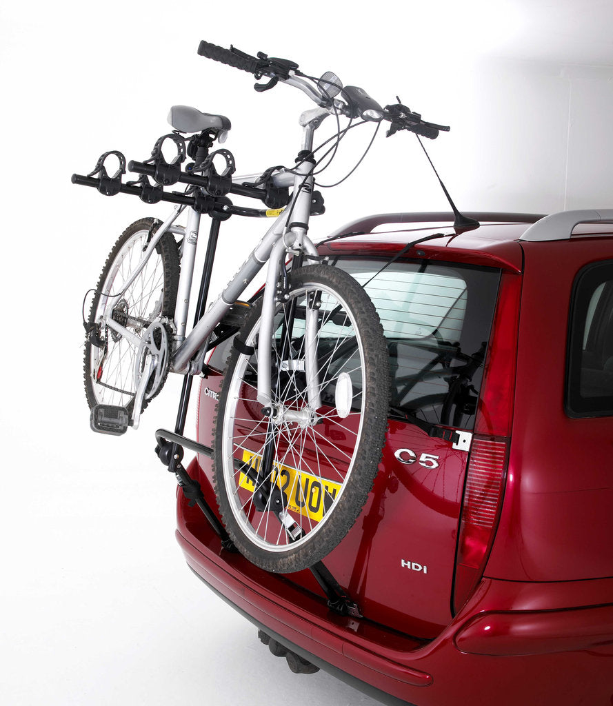 Rear mounted cycle rack