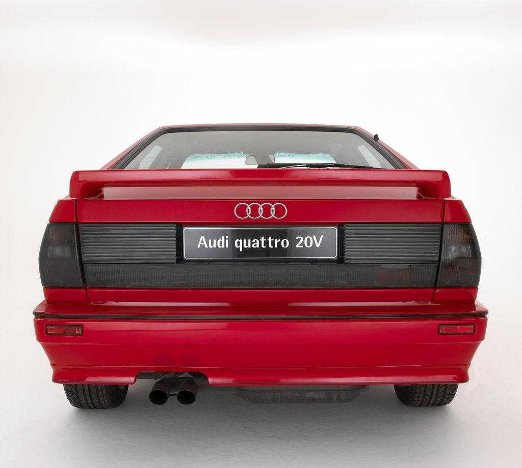 Detail of 1991 Audi Quattro 20v by Unknown
