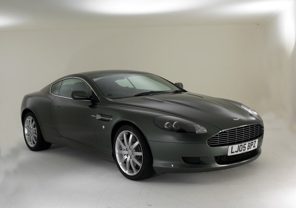 Detail of 2005 Aston Martin DB9 by Unknown