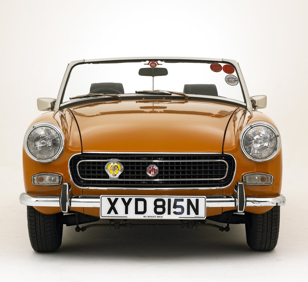 Detail of 1975 MG Midget by Unknown