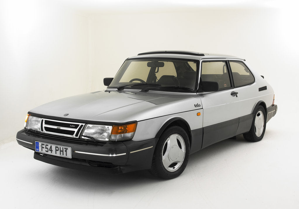 Detail of 1988 Saab 900 Turbo by Unknown