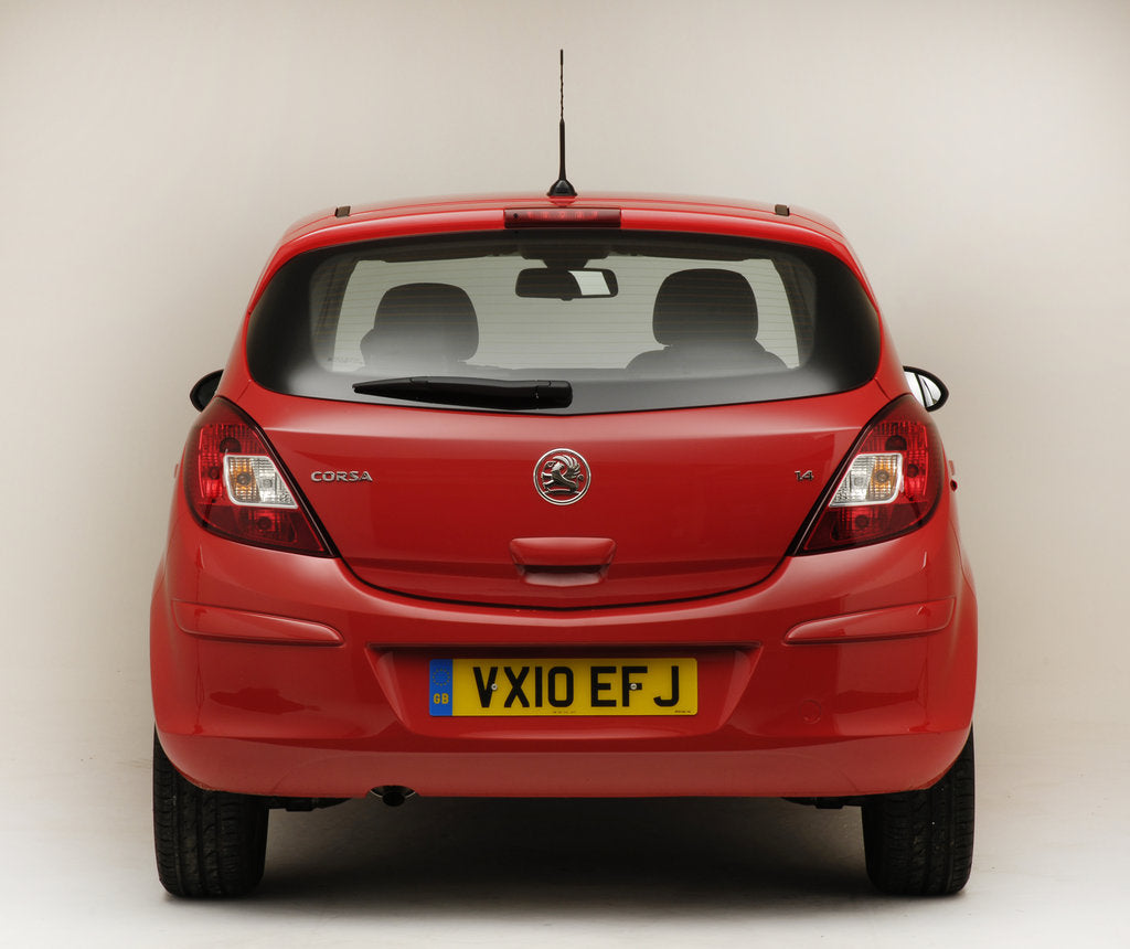 Detail of 2010 Vauxhall Corsa 1.4 by Unknown