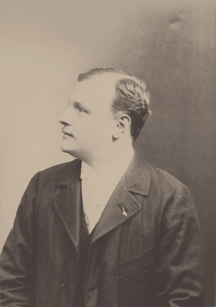 Portrait of the composer Justino Clerice