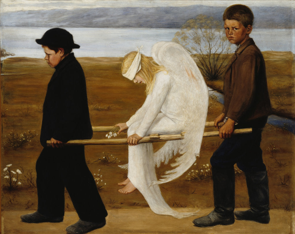 The Wounded Angel, 1903