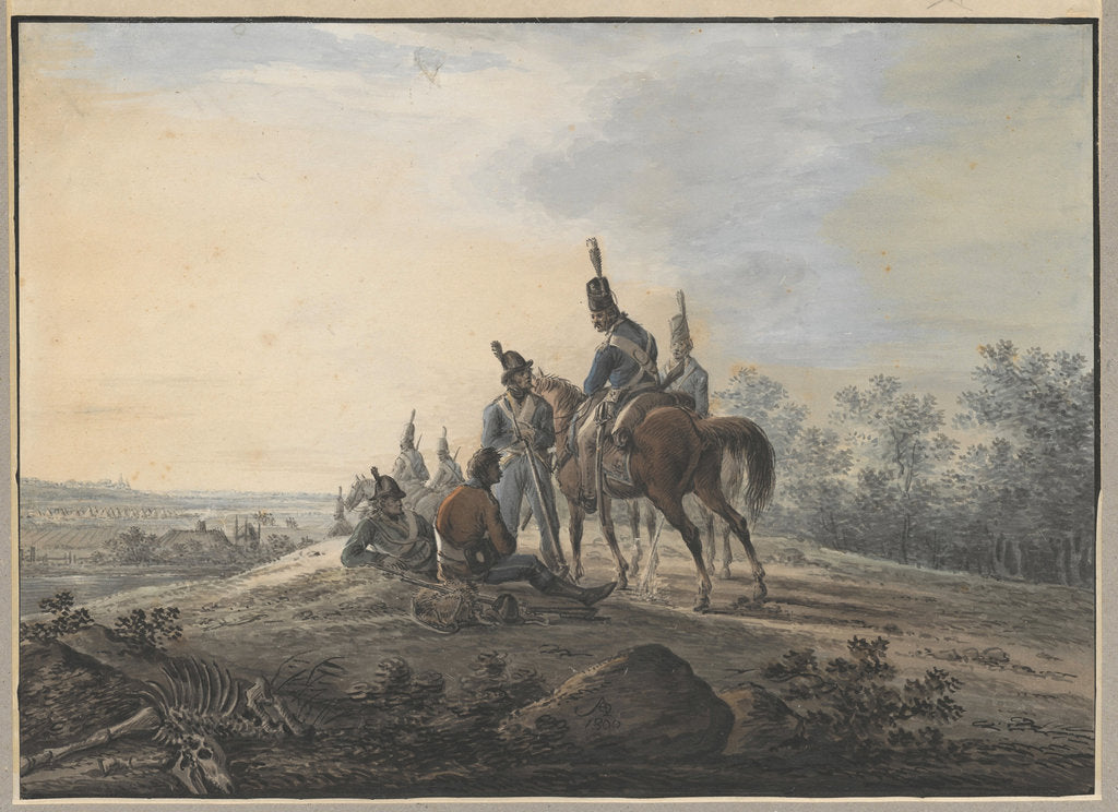 Bivouac of the Polish soldiers of the Kosciuszko Uprising, 1800