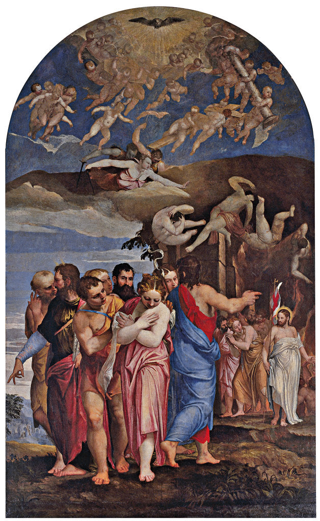 The Descent of Christ into Limbo and the Liberation of Souls in Purgatory